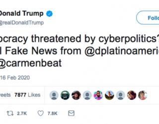 ¿La democracia amenazada por la ciberpolítica?  Los riesgos más allá del FaceBook…