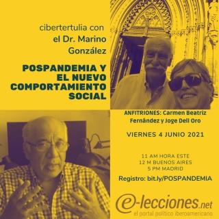 #Cibertertulia con @marinojgonzalez
