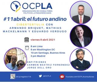 #Cibertertulia: #11Abril y el futuro andino
